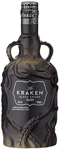 Kraken Ceramic Limited Edition Black Spiced Rum 70 cl