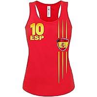 love-all-my-shirts 11 verschiedene SPANIEN FANSHIRTS Motive auswählbar - Damen Tank Top Gr.S bis XL - Golebros
