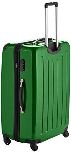 HAUPTSTADTKOFFER - Alex - Hartschalen-Koffer Koffer Trolley Rollkoffer Reisekoffer Erweiterbar, 4 Rollen, 75 cm, 119 Liter, Grün - 3