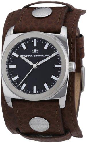 Tom Tailor - 5409002 - Montre Homme - Quartz Analogique - Bracelet Acier Inoxydable Marron