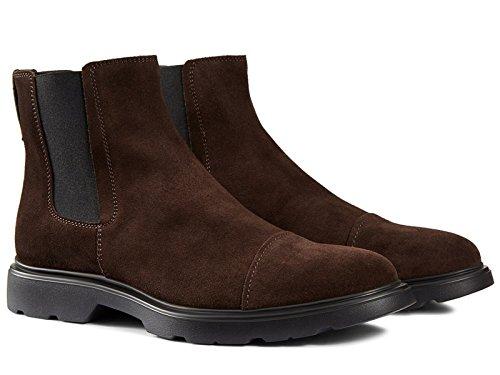 Boots Homme Hogan homme en peau Retournée ébène - Code modèle: HXM3040W330E5US807 ébène