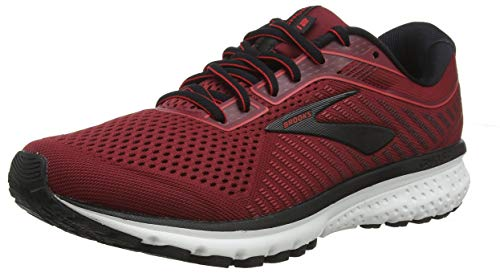 Brooks Herren Ghost 12 Laufschuhe, Rot Biking Red/Black 661, 42 EU