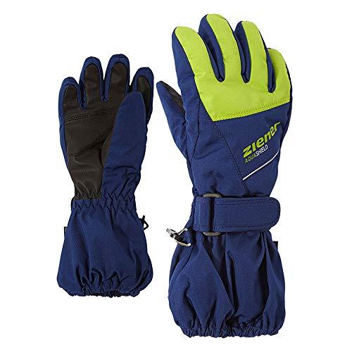 Ziener Kinder LOMO AS(R) Glove junior Ski-Handschuhe Estate Blue 92cm | 04059749263999