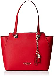 Guess Womens Tote Bag, Red - VR767223