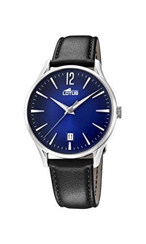 Lotus Watches Homme Analogique Classique Quartz Montre avec Bracelet en Cuir 18402/3