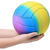 Squishys Grandes kawais,22x22cm Suave Juguetes de Voleibol Squishies Squeeze Toy Slow Rising Decompression Stress Relief Juguete Regalo para niños y Adultos,de Gusspower