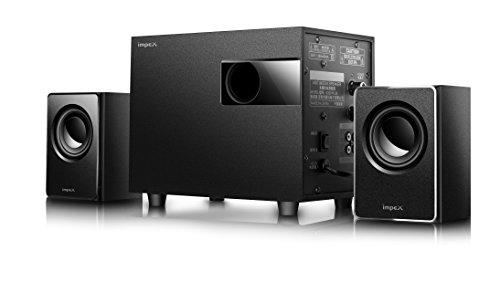 Impex 2.1 MICRO PLUS 20 W Portable Multimedia Bluetooth Speaker System (Black)