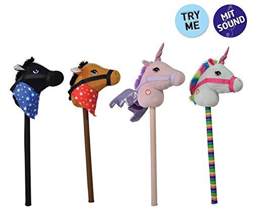 Happy People 58082Pferd auf Stick mit Sound (Sound Stick Pferd Mit)