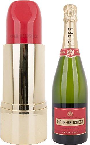 Piper-Heidsieck Cuvée Brut Lipstick Champagner Edition mit Geschenkverpackung (1 x 0.75 l)