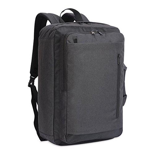 Shugon neuen Gewand–14bordeaux Hybrid Laptop Aktentasche Tasche, anthrazit Mélange/schwarz