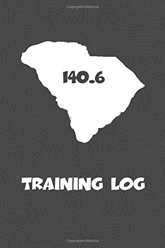 Training Log: South Carolina Training Log for tracking and monitoring your training and progress towards your fitness goals. A great triathlon ... bikers  will love this way to track goals! por KwG Creates