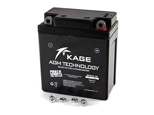 Batterie GEL KAGE Typ 6N6-3B, DIN 00612, MF6V6-3B