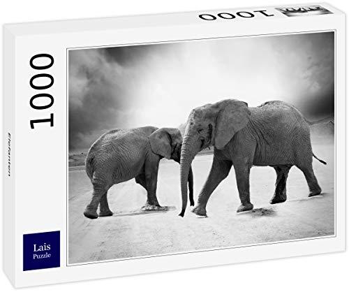 Lais Puzzle Elefantes 1000 Piezas