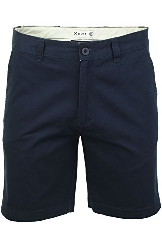 Xact Chino Shorts Mens Soft Feel Cotton Fashion Garment