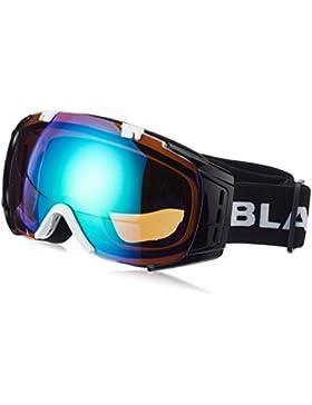 Black Crevice Máscara de Esquí Warh Negro/Blanco
