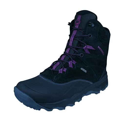 "414YuFXsG%2BL. SS500  - Merrell Women's Thermo Shiver 8"" Waterproof High Rise Hiking Boots"