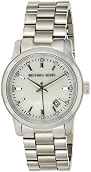 Michael Kors Womens Quartz Watch, Analog Display and Stainless Steel Strap MK5338