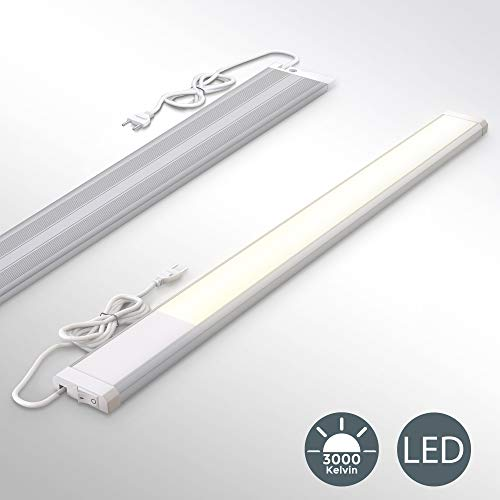 LED Unterbauleuchte | Werkstattlampe || inkl. 10W LED Platine 1100 Lumen | 57,5cm | 3000K warmweiß | IP20 | Unterbaulampe | Küchenlampe