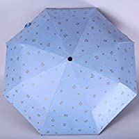 GANXIA HOME New Sun umbrella sun protection 30% rain and rain black plastic sun umbrella umbrella printing 30% 8 bone sun umbrella