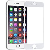 "Apple IPhone 6/6S Full Screen Tempered Glass | Body Coloured | 2.5D Edge & Corner | Screen Size - 4.7"" | Colour: White"