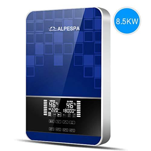 L.TSA 8.5KW Elektro-Durchlauferhitzer 220V Das ist Hot-Type Home Wandmontage Dusche Bad Maschine Konstante Temperatur Heiße Küche Schatz (Farbe: Blau) - 220 Elektro-durchlauferhitzer