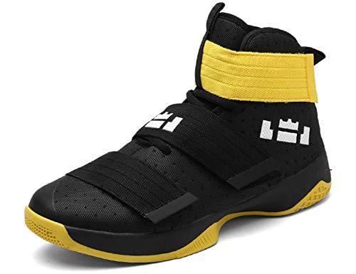 SINOES Mode Männer Hohe Hilfe Weiche Sohle Laufschuhe Turnschuhe Schuhe Herren Fitness Mesh Air Leichte Schuhe Neutral Jungen Basketballschuhe -