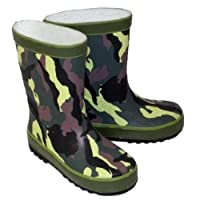 Kids Infant Child CAMOUFLAGE Funky wellies Wi10 UK10