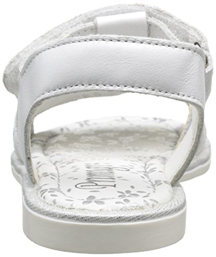 Primigi Annita, Sandales Fille Blanc (Nappa Perlata Bianco)