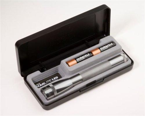 Maglite - Boxed AA/LED 2 Mini Maglite - Grey - MGLSP2209LB