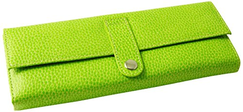 budd-leather-pebble-grained-leather-jewel-roll-lime-by-budd-leather