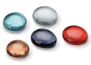 Gütermann / KnorrPrandell 6901875 - Transparente de Cristal de Colores Pepitas de 20x18mm, 200g/Pack Importado de Alemania