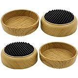 Lifeswonderful® Meubelonderzetters met anti-slip rubberen voet, beschermt uw vloeren en voorkomt dat meubels rollen, 4 stuks