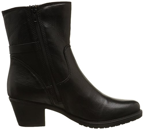 Clarks Maymie Skye, Damen Stiefel Schwarz (Black Leather)