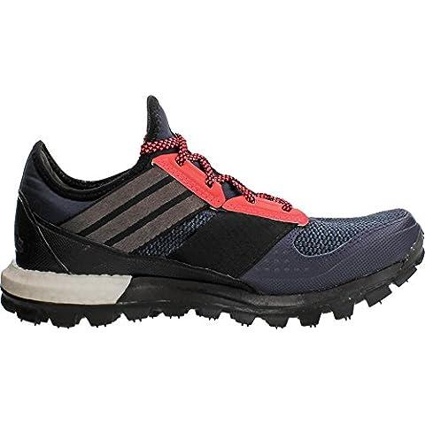 Adidas Performance Boost de respuesta Tr W zapatos corrientes, universitarios Azul marino / negro /