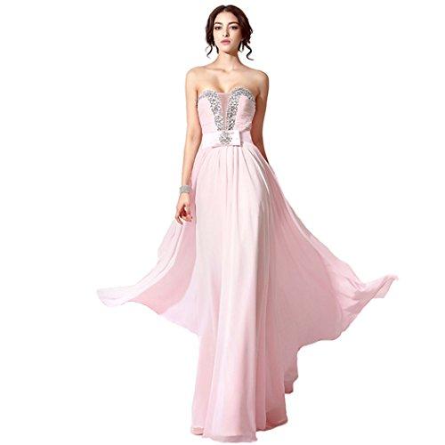 Sarahbridal Damen Kleid Rose