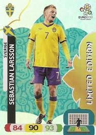 Euro 2012 Adrenalyn XL Sebastian Larsson Limited Edition segunda mano  Se entrega en toda España