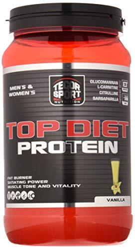Tegor Sport Top Diet Protein Complemento Nutricional Sabor Vainilla - 750 gr