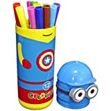 Babysid Collections Sketch Pens For Kids 12 Color Sketch Pens With Minions Box Color May Vary
