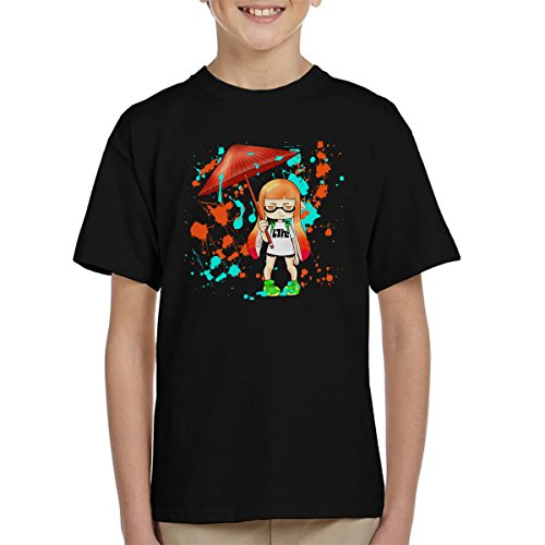 Ink War Inkling Splatoon Kid's T-Shirt (Kid Ink-t-shirt)