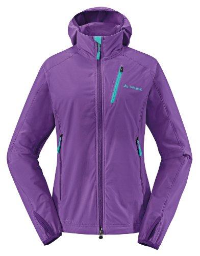 VAUDE women's sardona jacket veste Violet - Orange/violet