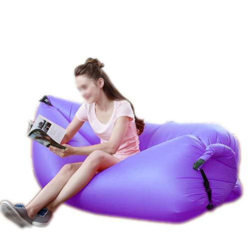 Wand-8-CC Leichter Schlafsack Wasserdicht aufblasbar Tasche Lazy Sofa Camping Schlafsäcke Luftbett Erwachsene Strand Lounge Stuhl Schnell zusammenklappbar