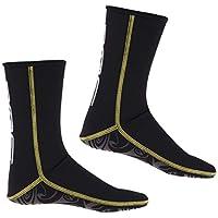 IPOTCH Traje de Neopreno Botines Zapatillas de Agua de Buceo 3mm para  Hombres f51cfeb96d3