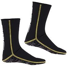 IPOTCH Traje de Neopreno Botines Zapatillas de Agua de Buceo 3mm para  Hombres c30aa8f9f37