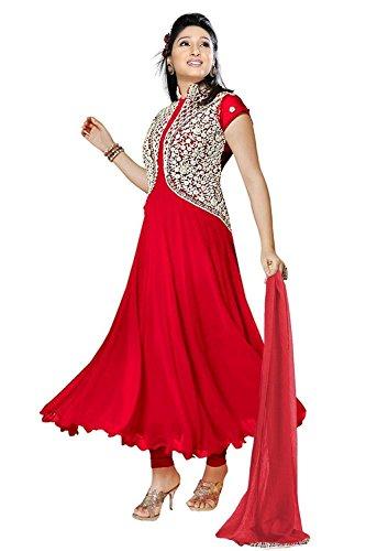 Dipak Fashion Women's Lehenga Choli (DF-1006_Beige_Free Size)  available at amazon for Rs.151