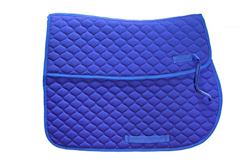 EJP Schabracke mit Tasche für Gel-Pads. Version VS. In 4 Farben erhältlich. (Blau)