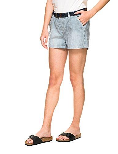 638df77e16d7 Superdry Women's Almalfi Striped Shorts Light Blue in Size L