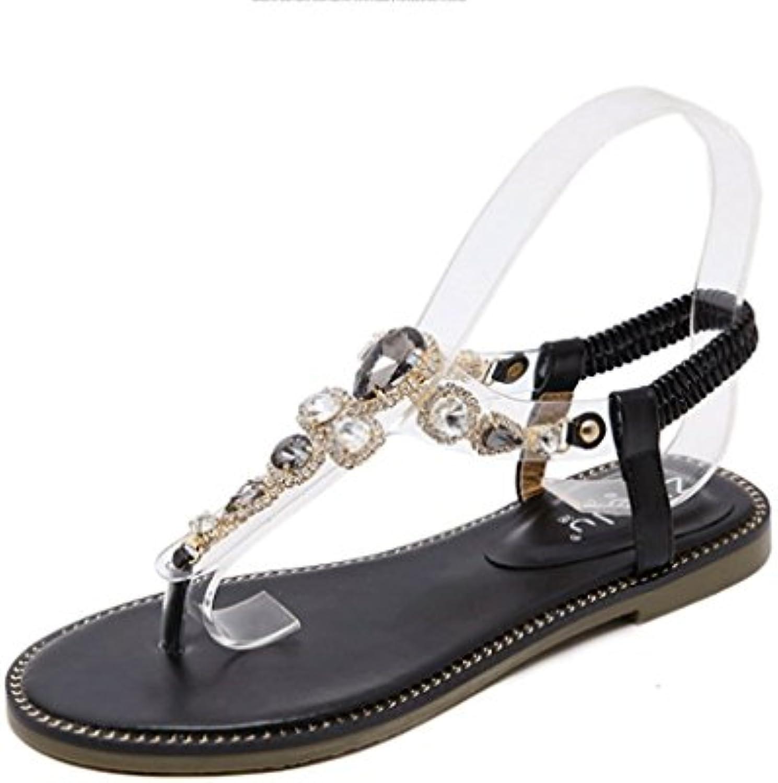 Sandalias, Sandalias de Moda de Verano Sandalias Planas Cómodas