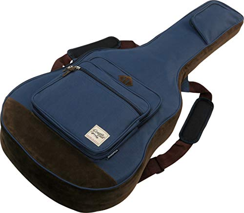 Ibanez iab541-nb funda Powerpad para guitarra acústica, azul marino