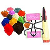 Oramsa Combo Of Two Roller And One Rangoli Pen And Five Dry Rangoli Colours (5 * 50=250gm) (any5)