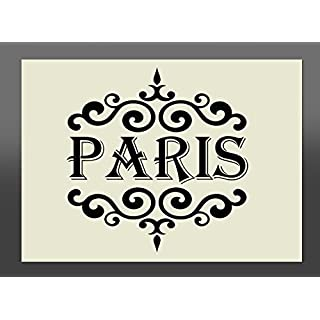 210 x 150 mm A5 Shabby Chic Paris Schablone
